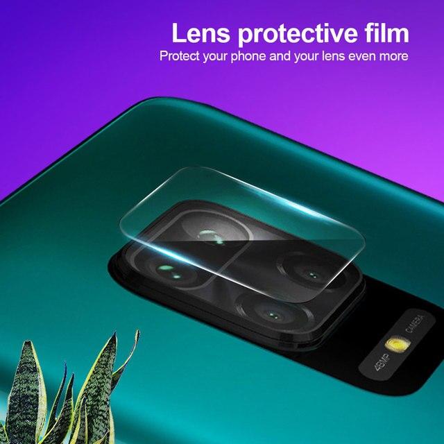 3Pcs Camera Lens Glass For Xiaomi Redmi Note 10 9s 7 8 9 Pro 9T 8T 9C Screen Protector poco F3 f2 X3 Pro Glass For Mi 11i lite 2