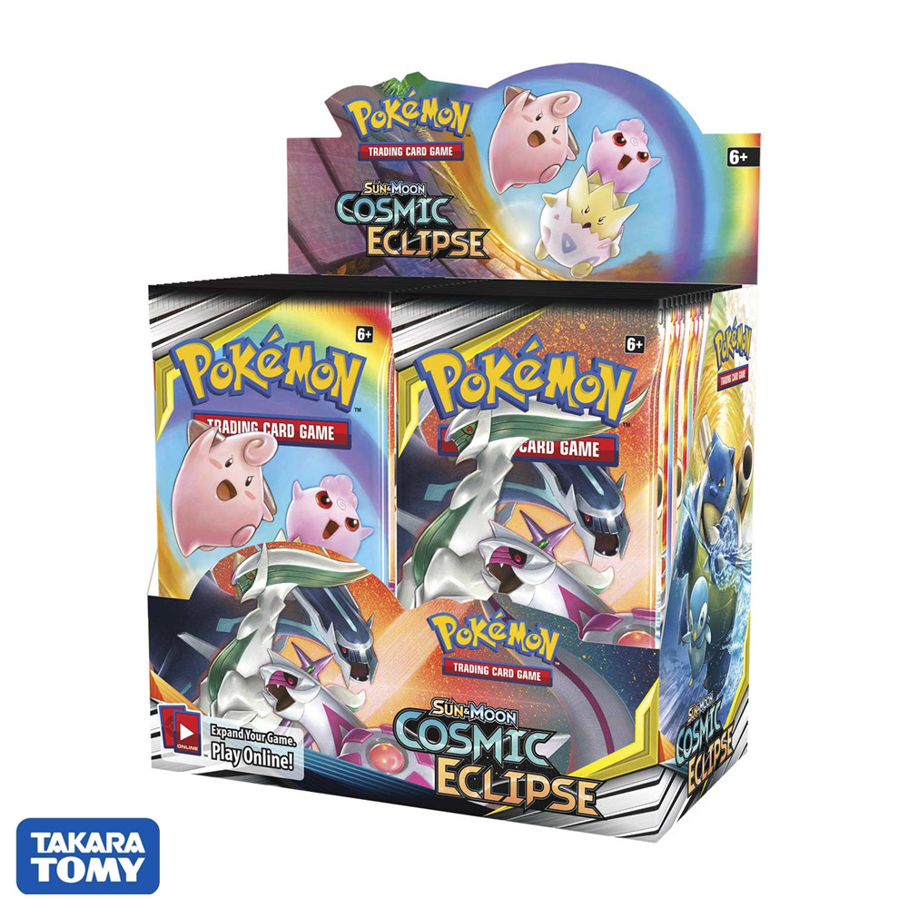 324pcs Pokemon Card TCG: Sun & Moon Cosmic Eclipse Booster Box Collection Trading Cards Game