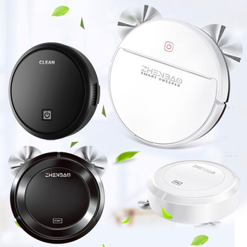 House Cleaning Robot Vacuum Cleaner Intelligent Floor Cleaning Robot Sweeping Machine Automatic Vacuum Cleaner USB Charge