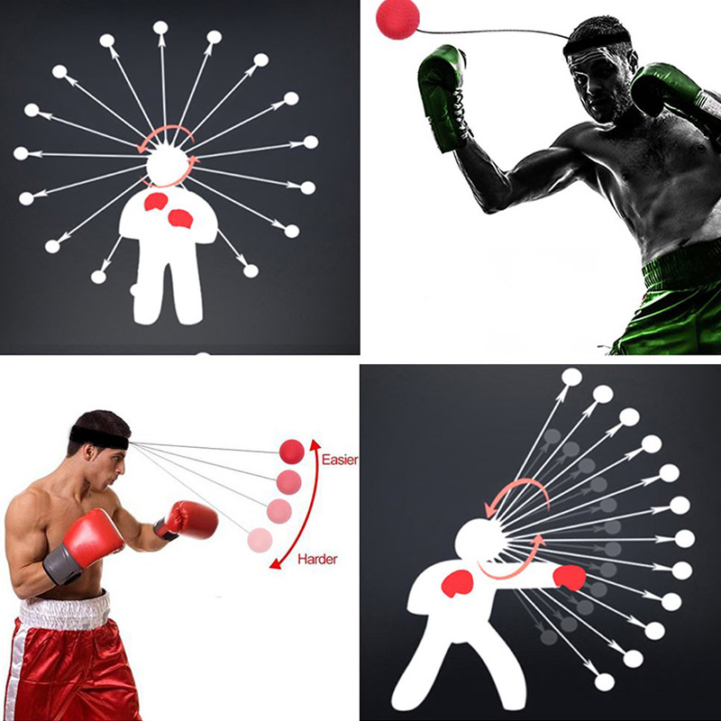 Boxing Reflex Speed Boxing Ball MMA Sanda Reaction Strength Training Ball Boxing Muay Thai Exercise Hot
