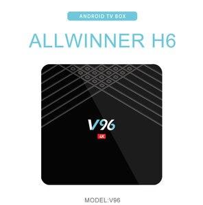 Image 2 - Vmadeスマートミニtvボックスアンドロイド9.0 osオクタコアH.265/hevc 4 2k allwinner H6クアッドコア2グラム/16グラムサポート1.5 ghzの無線lanセットトップボックス