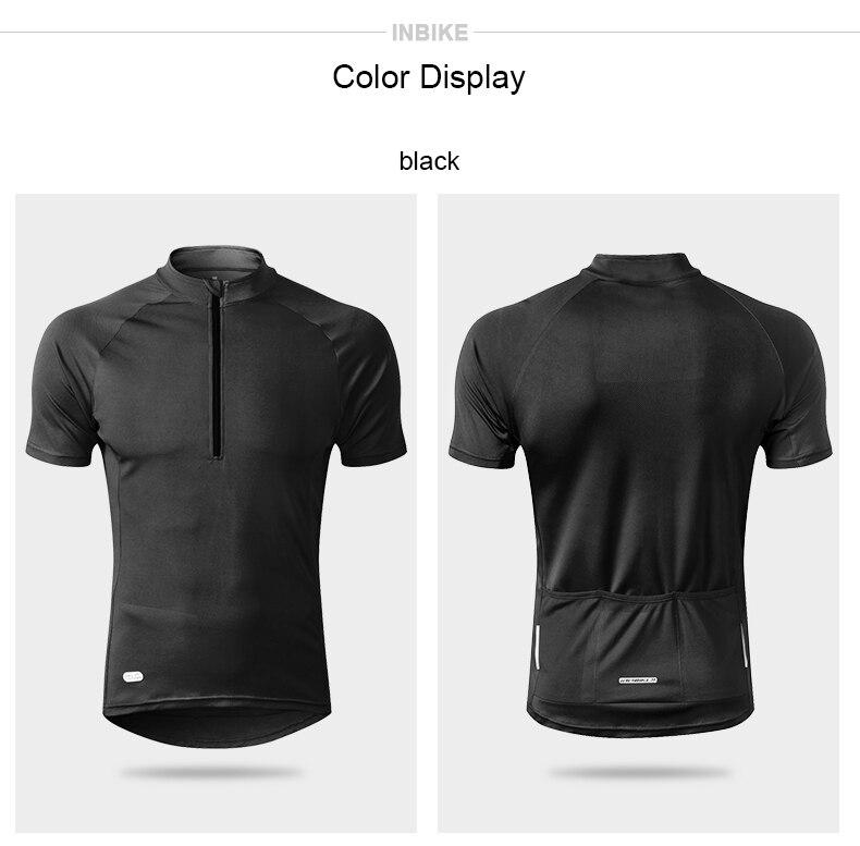 Inbike ανδρική αθλητική μπλούζα ποδηλασίας καλοκαιρινή εφαρμοστή msow