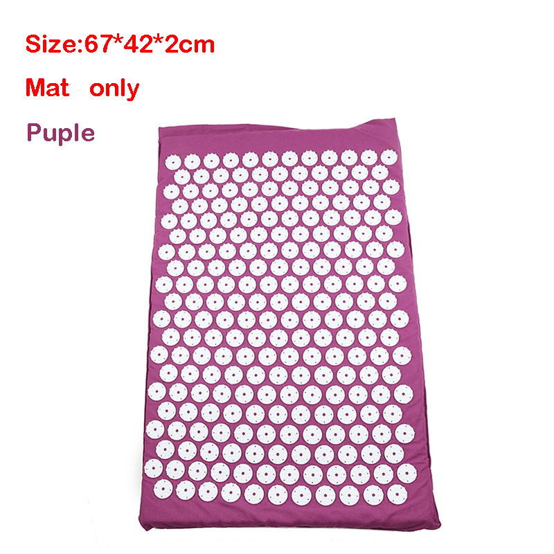 Purple mat