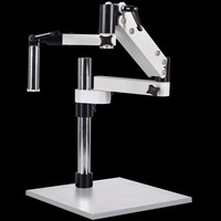 Fold the gimbal swing arm microscope articulating stand with clamp FOR STEREO MICROSCOPES
