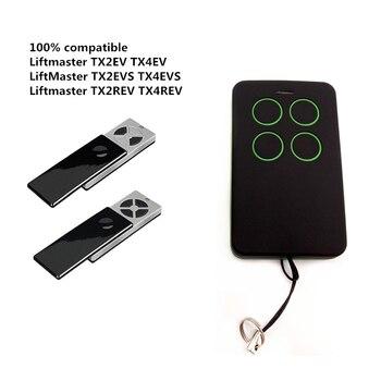 Liftmaster TX2EV/TX2EVS/TX4EV/TX4EVS/TX4UNI/ TX4UNIS 433.92MHz remote control duplicator Liftmaster rolling code command clone for liftmaster chamberlain tx4unis compatible remote control free shipping