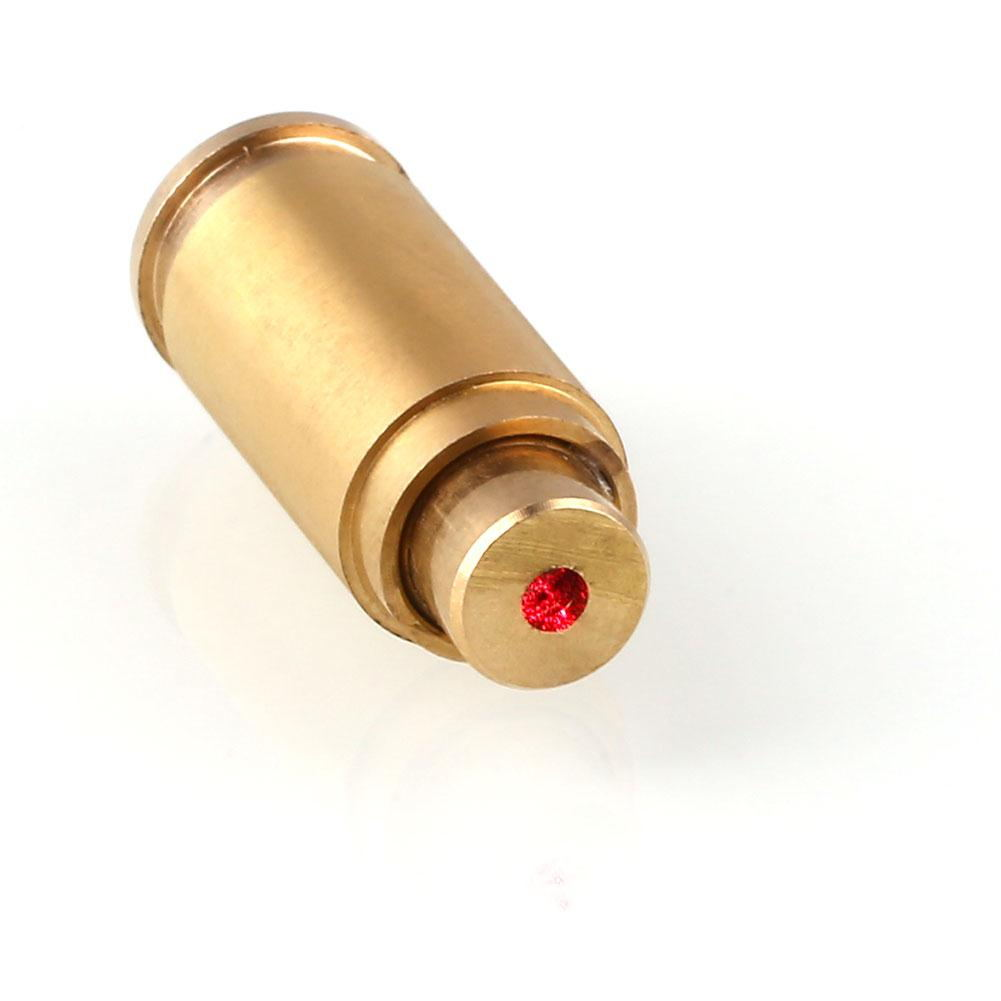 9mm Laser Dot Boresighter Bore Sighter Caliber Cartridge Brass Tactical Hunting Outdoor Tools Accessories Supplies