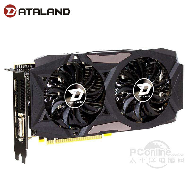 Dylan HengJin RX 470 4G DUal Cool Graphics Card Cooling Fan RX470 4G 256bit