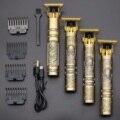 2020 USB T9 машинка для стрижки волос Профессиональный электрический триммер для волос парикмахерская бритва триммер для бороды 0 мм Мужская ма...