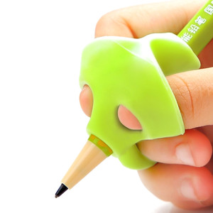 1pcs Children Writing Pencil Pan Holder Kids Learning Practise Silicone Pen Aid Grip Posture Correction Device for Students New