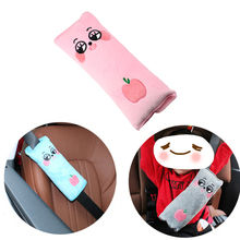 цены 2Pcs Seat Belt Cover Pad Protector Safety Belt For Car Kids Shoulder Baby Safety Cartoon Seatbelt      Auto Accesorios Interior