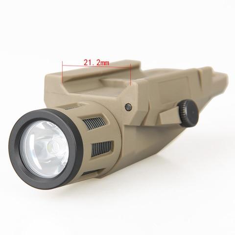 trijicon novo arrvial tatico lanterna sd 65 luz