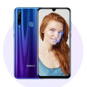 Image 3 - global version honor 20 lite Mobile Phone 6.21 inch  Android 9.0 FM Face Fingerprint Unlock   Smartphone