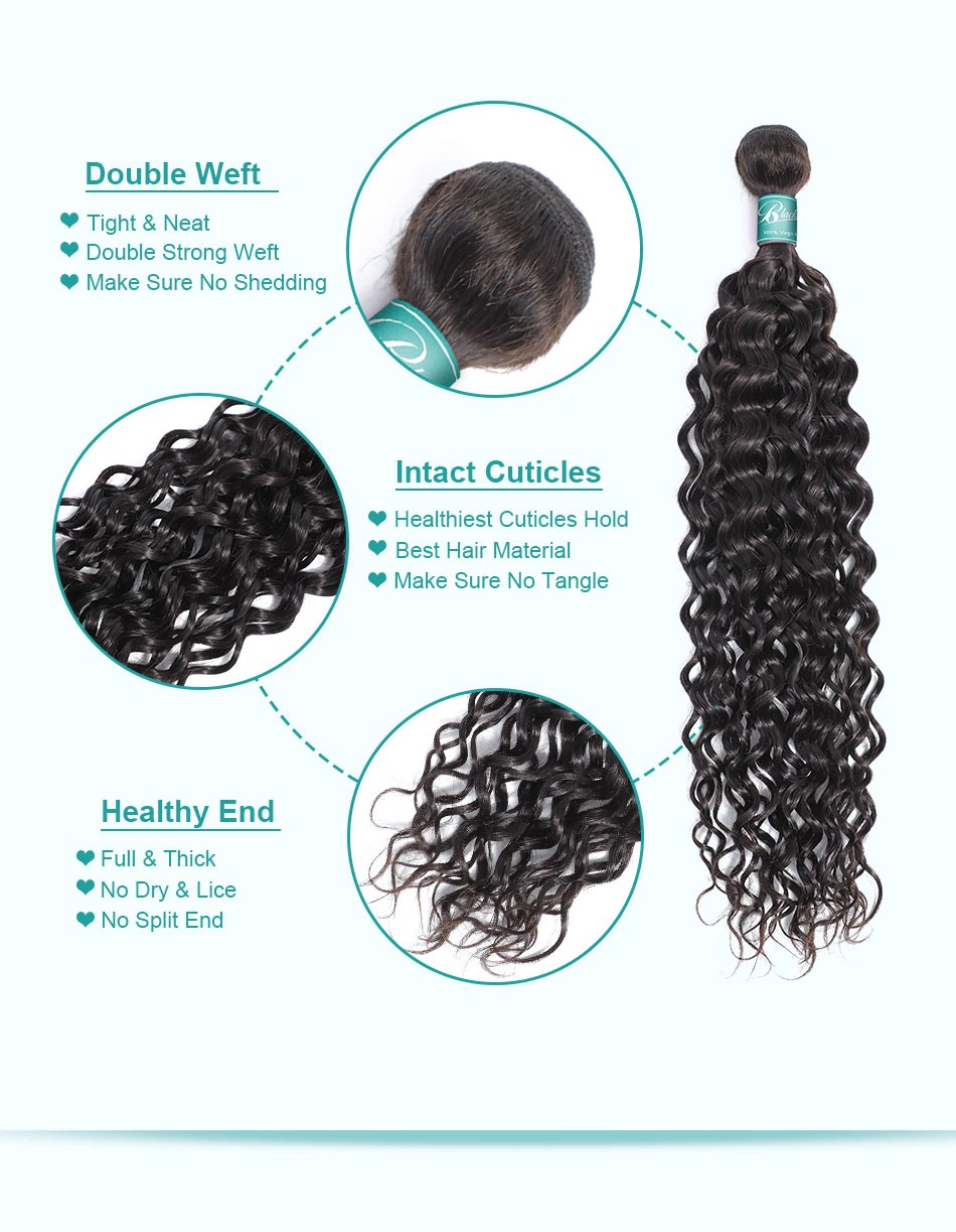 water wave hair weave bundles_07
