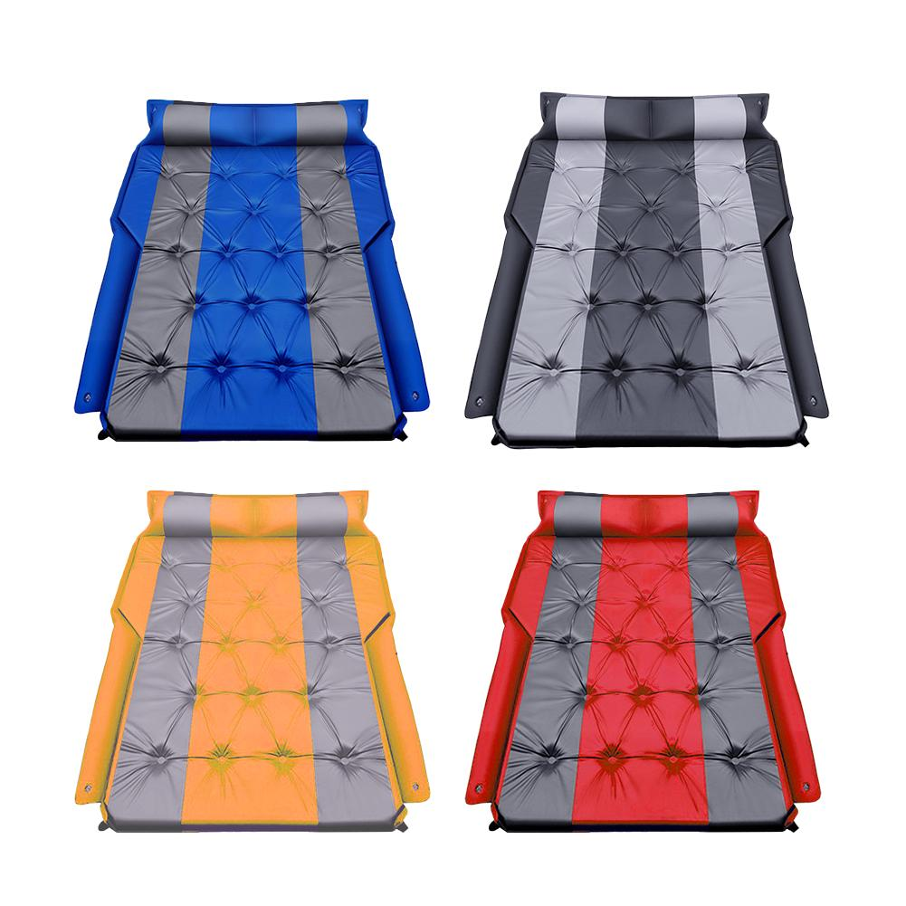 Car Air Mattress Portable Suv Inflatable Back Seat Blow-up Sleeping Pad Travel Bed car bed For Outdoor Camping Auto Accessories