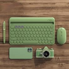 Bluetooth Wireless Silent Mini Gaming Set Keyboard Mouse Combo Magic Keyboard Mouse Kit For iPad Phone HP Huawei Laptop PC Gamer