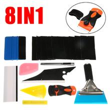 8 in 1 Car Window Tint Tools Kit For Vinyl Film Tinting Squeegee For Car Glass Protective Film Car Window Wrap Tint Tool недорого