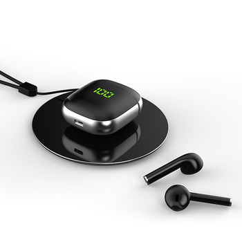 2020 New WK60 TWS Bluetooth 5.0 Earphones LED Display Mini Earbuds QI Wireless Charging Box Binaural HD Call Earbuds