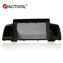 HACTIVOL Car Radio face plate Frame for Toyota Corolla E120 Corolla EX BYD F3 Car DVD Player panel dash mount kit car products футболка классическая printio отряд рапторов парк юрского периода