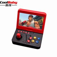 Video Game Console Mini 7 inch Arcade Game Consola Retro Machines for Kids with 3000 Classic Game handle Games Retro Handheld 24