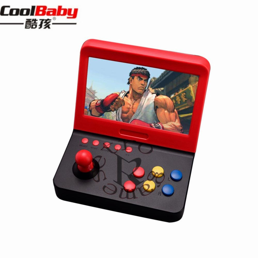 Video Game Console Mini 7 inch Arcade Game Consola Retro Machines for Kids with 3000 Classic Game handle Games Retro Handheld 24 image