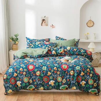 44   Sunflowers Sheet Duvet Cover Twin Full Queen size 4Pcs 100%Cotton Bedding set for Girls Women Super Soft and Easy care