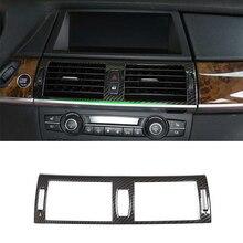 Mutips Auto Klimaanlage Panel Rahmen Trim zentrum konsole Dekoration Abdeckung zubehör für BMW e70 e71 X5 X6 2008 2013 auto