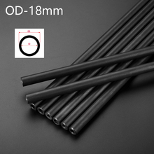 O/D 18mm Hydraulic Tube for Home DIY  Explosion-proof Boiler Seamless Steel Pipe Print Black