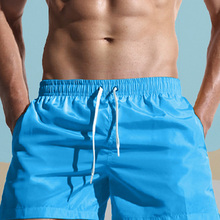 Swimming-Shorts Boxer Bathing Beach-Wear Surf Brie Summer Quick-Dry Pocket Brand