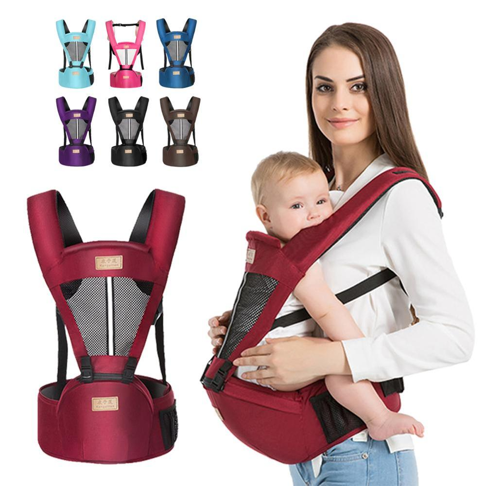 Women's Baby Carrier Multifunctional Cotton Baby Wearing Outdoor Baby Seat Belt Pillows Baby Accessories