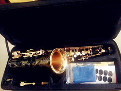 Alto Saxophone New High Quality Sax alto saxophone Musical Instruments Professional E-flat Sax and Hard box