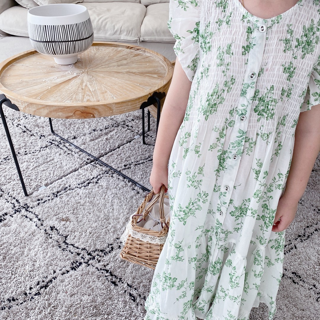 2020 soft Cute Toddler Girl floral Dress Kids Ruffle Sleeve Dresses Summer Outfit Clothes Sundress for Girls ob mid june