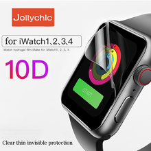 Pokrowiec na zegarek do Apple Watch 5 4 3 2 1 pokrowiec na pasek 42mm 38mm ochraniacz ekranu 40mm 44mm do iWatch 4 Series 5 1 2 3 4 tanie tanio Geekthink Ultra-cienki Hydrożel Filmu APB0136