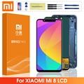 6,21 ''Оригинальный дисплей для Xiaomi Mi 8 сенсорный экран дигитайзер сборка с рамкой для Xiaomi Mi8 Запасные Запчасти для ремонта