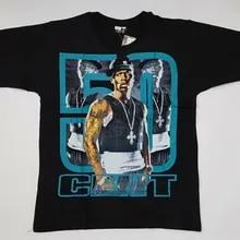 50 Cent American Rapper New Cotton T-Shirt