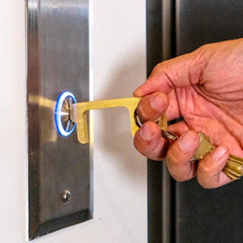 No Touch Open Door Disinfectant Defender Elevator Button Non Contact Press Tool Disinfection Door Elevator Hand Free Door Opener