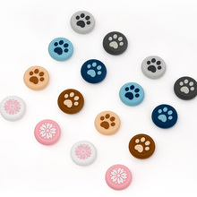 New Cat Paw Sakura Thumb Stick Grip Cap Joystick Cover For Sony Playstation Dualshock 4/3 PS4/PS3/Xbox 360/Switch Pro Controller