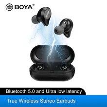 BOYA BY AP1 Bluetooth 5.0 Wireless Earbuds True Wireless Stereo TWS Headset Noise Cancel Waterproof Earphones