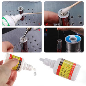 Flux Soldering Pcb-Tool Liquid Stainless-Steel Durable Welding Strong Water 20ml 1pc
