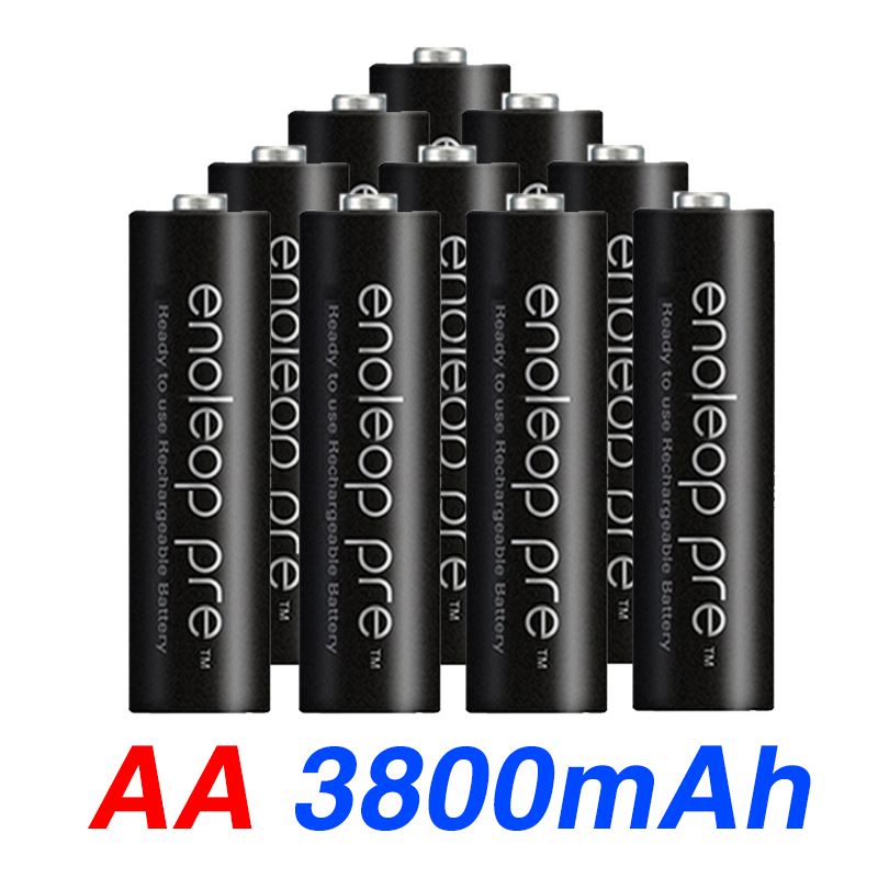 4pcs Eneloop Battery Primary Aa Battery Pro AA 3800 MAH 1.2 V NI-MH Flashlight Toy Preheated Rechargeable Battery