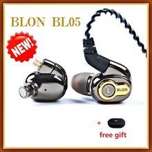 2020 Newest BLON BL 05 BL05 2nd Generation 10mm Carbon Nanotube Diaphragm HiFi In ear Earphone  BL 03 (CNT)