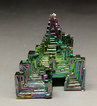 47g Beautiful Bismuth Crystals Bismuth Metal crystal Stones and crystals from china Free shipping(China)