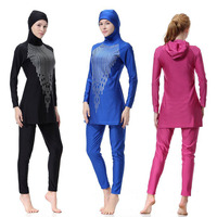 Women Swimwear Burkini Anti Exposure Swimsuit Muslim Clothe Muslim Swimsuit Beach Sport Swimming Modest Long Sleeve