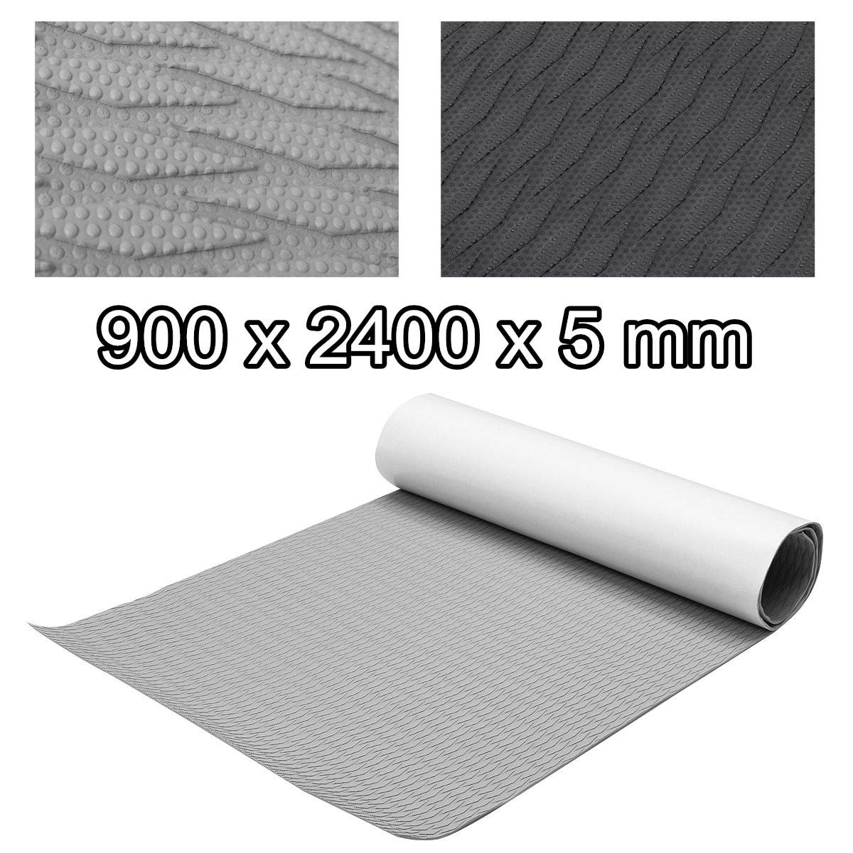 Self-Adhesive Foam Teak Decking EVA Foam Marine Flooring Faux Limo Boat Decking Sheet Accessories Marine 2 Colors 900x2400x5mm