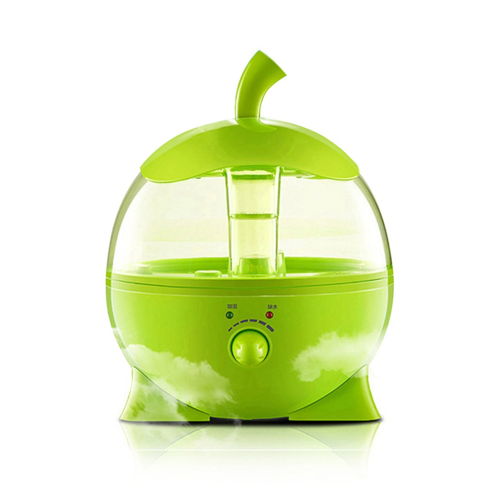 Cute Apple Shape Ultrasonic Humidifier Air Humidifiers Aroma Essential Oil Diffuser Aromatherapy For Home Office