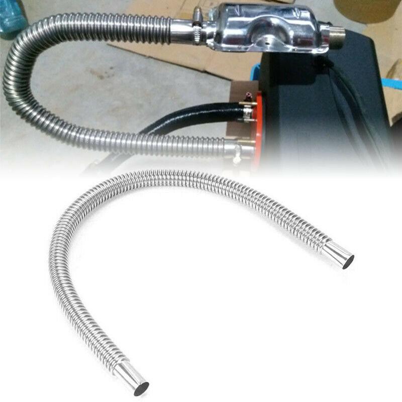 60cm 2525mm aço inoxidável tubo de escape do carro tubo de ventilação de gás mangueira aquecedor diesel silenciador da exaustão para webasto eberspicer aquecedor