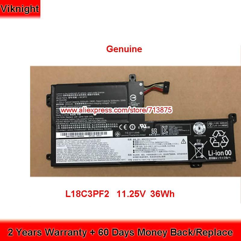 Оригинальный аккумулятор L18C3PF2 для Lenovo IdeaPad L340 L340-15IWL L340-17API 11,25 V 36Wh