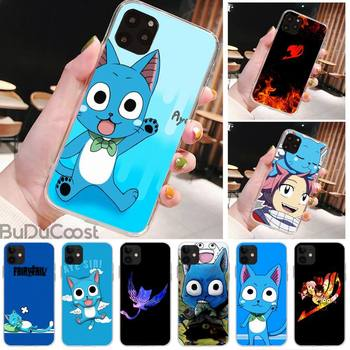 Riccu Happy Felice Fairy Tail Phone Case For iPhone 11 12 pro XS MAX 8 7 6 6S Plus X 5S SE 2020 XR cover image