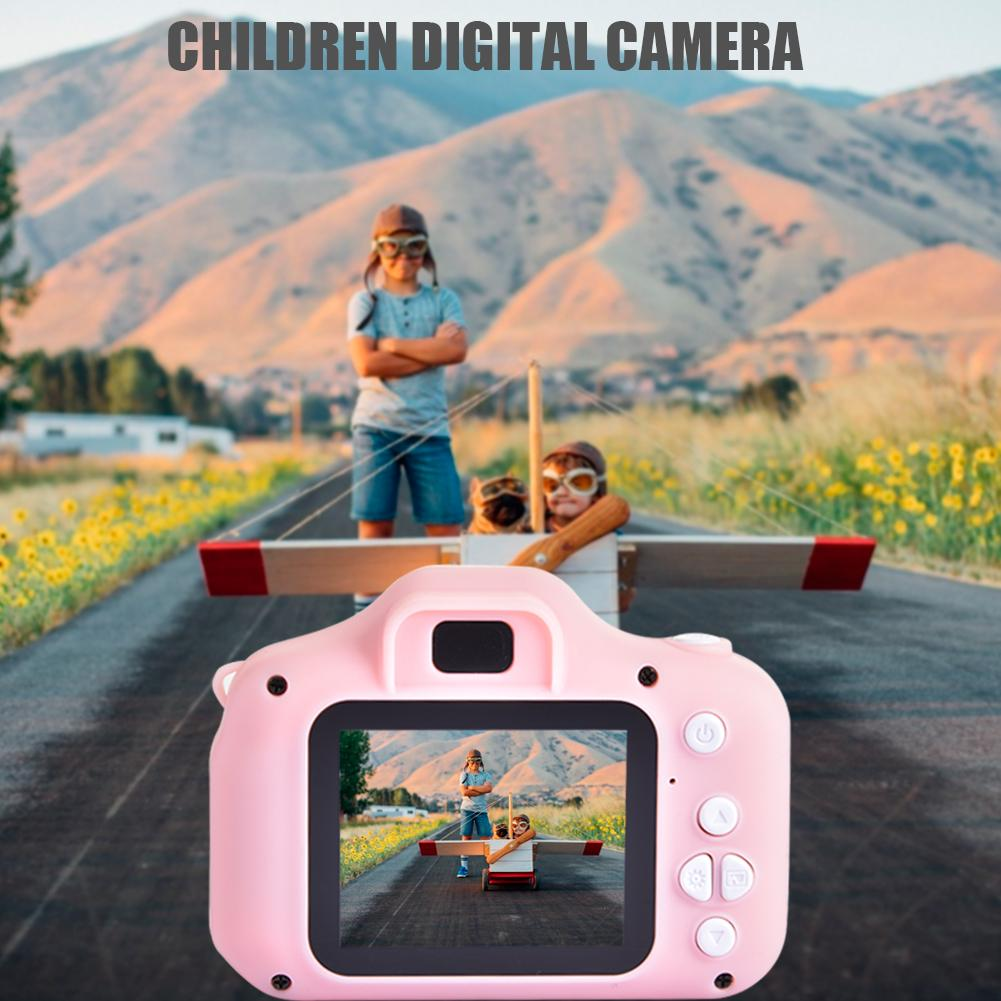 Kids Camera 12MP HD Video Camera 1080P Digital Cameras Video Recorder Outdoor Photography Props For Game Study Gift Birthday