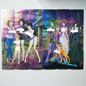 20 sztuk zestaw 9 w 1 Sexy Saint Seiya detektyw Conan Case zamknięte zabawki Hobby Hobby kolekcje kolekcja gier Anime karty tanie i dobre opinie TOLOLO 8 ~ 13 Lat 14 lat i więcej Dorośli Chiny certyfikat (3C) C849 Fantasy i sci-fi