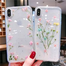 Romantic Sweet Case For iPhone X XS MAX XR 8 Plus 7 6 6S Bumper Ins Fashion Protective Coque With Gift